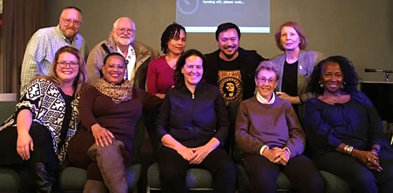 Founding members of the Diversity Commission