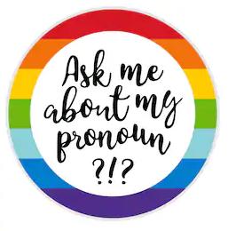 Use Person's Pronoun…